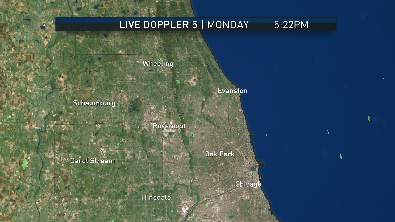 Northern Cook County Pinpoint Radar