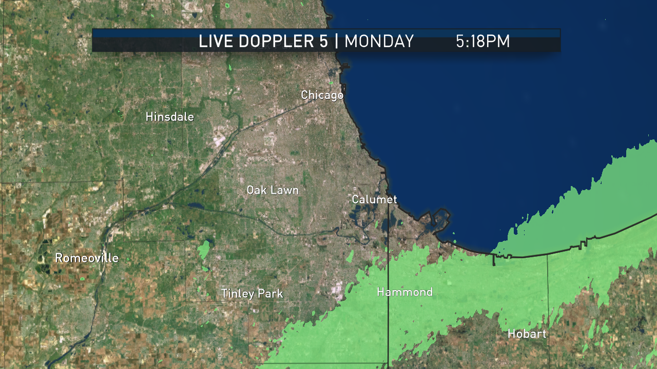 Southern Cook County Pinpoint Radar