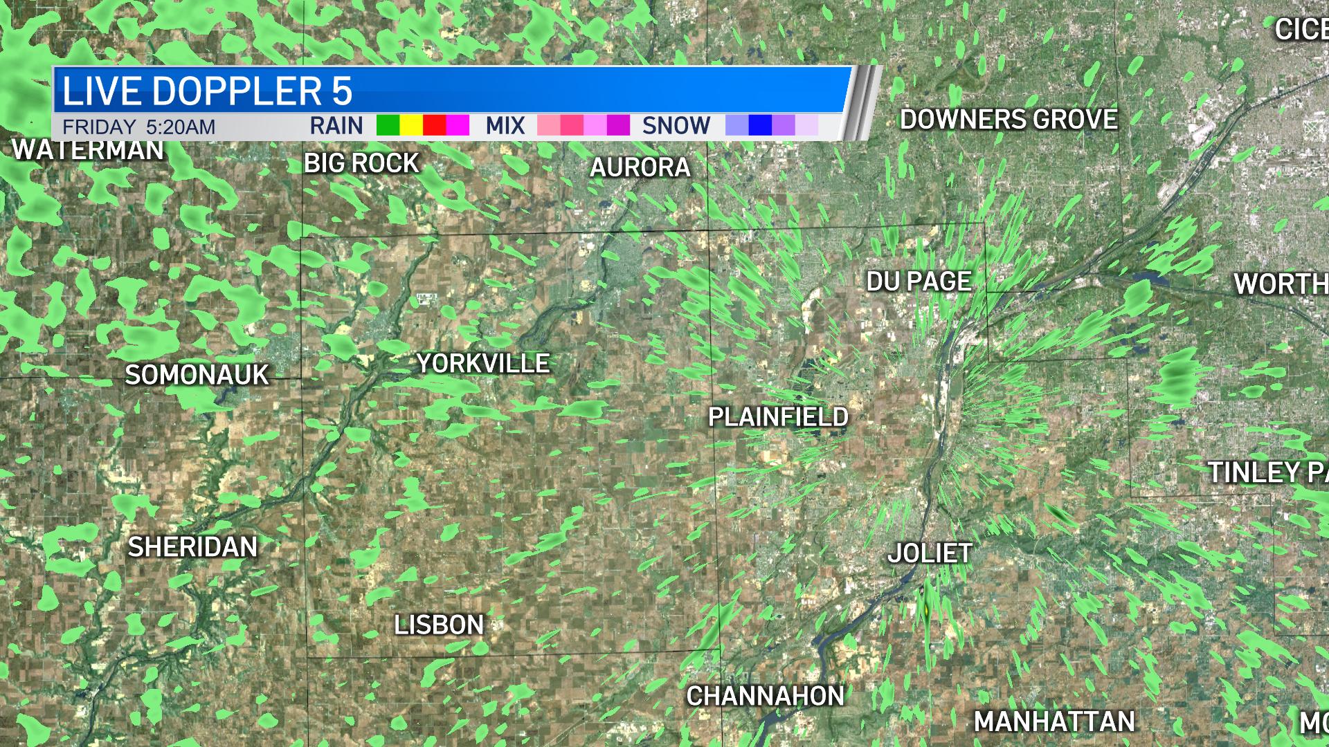 Live Doppler 5 Kendall County